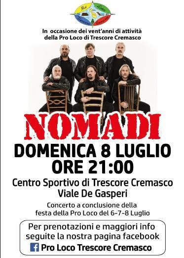 Calendario Concerti Nomadi.Pro Loco Tresbeerfest Per Festeggiare 20 Anni Di Attivita